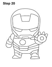 Color scheme was created by colorswall. Mini Iron Man Drawing 20 Iron Man Drawing Mini Iron Iron Man