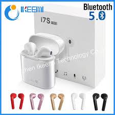 China <b>I7s Tws</b> 5.0 Wireless <b>Bluetooth Headphone</b> I7s with Charging ...