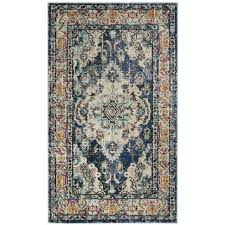 where to find bohemian navy light blue rug 8x10 in new orleans