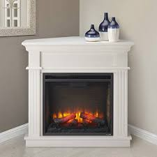 electric corner fireplace white stylish crestwood mantel package in pertaining to 2
