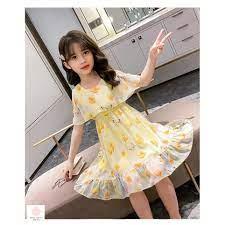 Đầm cho bé gái 5 tuổi (3-12 tuổi) ️ Thời trang bé gái 11 tuổi ️ Váy cho bé  gái 10 tuổi chính hãng