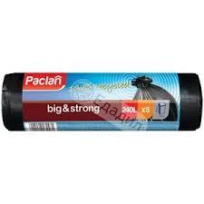 <b>Мешки</b> для <b>мусора Paclan Big</b> & Strong 240 л, 5 шт — Едадил