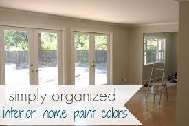 Colors For Houses Interior interior house paint colors 6093 by uwakikaiketsu.us