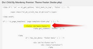 Replace the Default Footer with a Divi Builder Footer Saved in Your ...