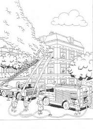Coloring Page Fire Brigade Fire Brigade On Kids N Funcouk Op Kids