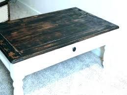 distressed coffee table distressed coffee table design ideas black round entertaining wood w distressed coffee table uk