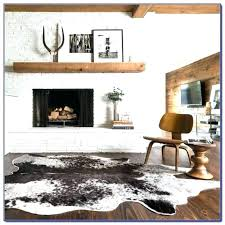 real cowhide rug how to clean fake s