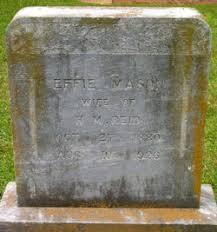 Effie Mason Hankins Reid (1880-1926) - Find A Grave Memorial