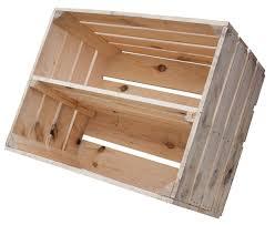 Regal-Baukasten : Kiste mit Mittelbrett