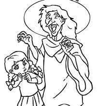 Small Picture WITCH coloring pages 64 printables to color online for Halloween