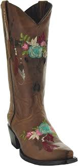 Soto Designer Wear Soto Boots Longhorn Womens Fashion Cowgirl Boots M50029