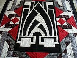 Art Nouveau Quilt Patterns art deco quilt made ann as a present ... & Art Nouveau Quilt Patterns art deco quilt made ann as a present for her son  he Adamdwight.com