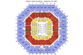 Arthur Ashe Stadium Us Open Seating Chart 2020 Us Open Tennis Championships Tickets Tour Packages