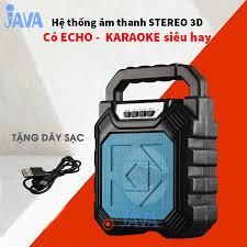 TẶNG 1 HOẶC 2 MICRO] Loa Kẹo Kéo Karaoke Bluetooth Mini - Loabluetooth-  JAVA63bt - Loa Bluetooth Thương hiệu No Brand