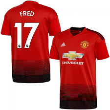 Printing Home Fred 2018 Manchester 17 United Epl 2019 authentic Jersey