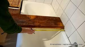 diy reclaimed wood bath caddy homesthetics 4
