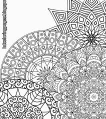 Mandala Coloring Pages For Adults Advanced Free Printable Only