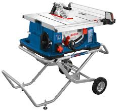 Bosch Stock Chart Table Saws