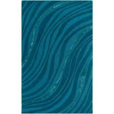 lounge carmen turquoise 8 ft x 10 ft indoor area rug