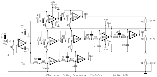 circuit projects s electrical engineering blog eeweb community electronic crossover 3 way output