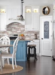 brick backsplash ideas. Diy Brick Backsplash Tutorial, Farmhouse Kitchen, Veneer Ideas A