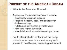 Is The American Dream Accessible To Everyone Essay Writer