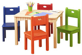 amazing childrens folding table and chair set with kids table and chairs with cartoon design josephtany