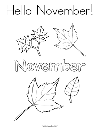 Small Picture November Coloring Pages Twisty Noodle