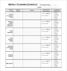 Server Schedule Template Restaurant Schedule Template 16 Free Excel Word