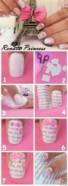 How To Do Newspaper Nail Art With Water - Best Nail Ideas