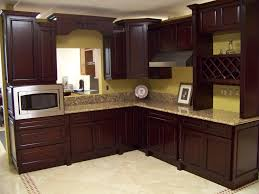 Kitchen Colors Dark Cabinets Stained Wood Cabinets Natural White Paint Cabinet Colors Wonderful
