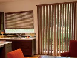 faux wood blinds for patio doors gorgeous wooden door intended decorations 3