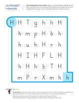 connecting letters in a scramble h