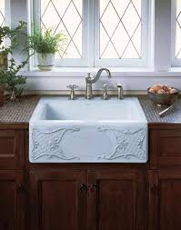White Apron Kitchen Sink Farmhouse Kitchen Sink Top Mount Best Kitchen Ideas 2017