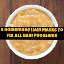 hair mask for itchy scalp or dandruff problems
