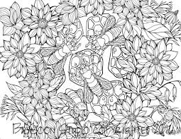 Small Picture Busy Bees Coloring Page Printable Coloring Pages Adult Coloring