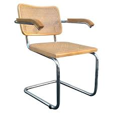 midcentury marcel breuer cane cesca chair for at 1stdibs marcel breuer chair