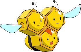 Pokemon 2415 Shiny Combee Pokedex Evolution Moves