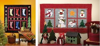 Quick Christmas decorating: part I - Stitch This! The Martingale Blog & Christmas quilt wall hangings Adamdwight.com