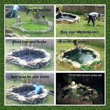 pond steps to building a small stream filter garden waterfall comments landscaping around a small pond