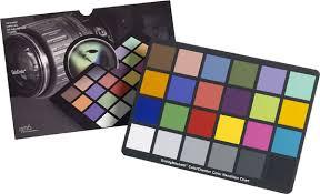 Gretagmacbeth Colorchecker Chart Colour Calibration Question