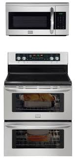 frigidaire ultimate cooking combo 30 inch freestanding range with double oven