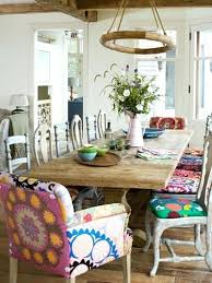 Colorful Dining Room Tables Simple Inspiration Ideas