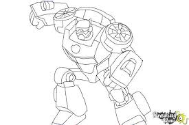 Small Picture How to Draw Chase from Transformers Rescue Bots DrawingNow