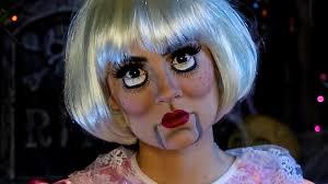 video creepy doll halloween makeup tutorial
