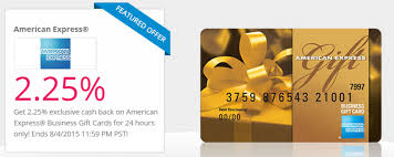Business Gift Cards With Logo Get 2 25 Cashback On Amex Business Gift Cards At Top Cashback