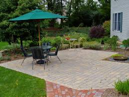 paver patio paver patio in lower macungie how much does a paver patio cost