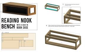 How to Download Our Plans for Reading Nook Bench