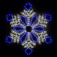 Blue Outdoor Lights Buy Wintergreen Lighting Led Snowflake Light Christmas