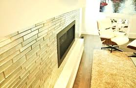 awesome glass tile fireplace surround or glass tile fireplace mosaic